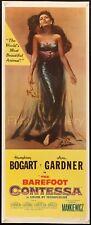 "THE BAREFOOT CONTESSA 1954 US 14""x36"" Ava Gardner Humphrey Bogart filmartgallery"