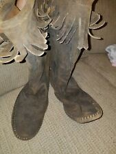 Vintage Taos Native Indian Boots 13901