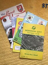 More details for collection of 6 walsall fc football programmes inv vintage