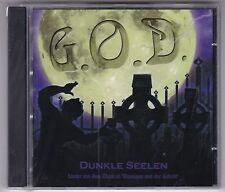 """G.O.D. - DUNKLE SEELEN CD LIEDER AUS DEM MUSICAL""""FINNEGAN UND DER KOBOLD"""" NEU!"""