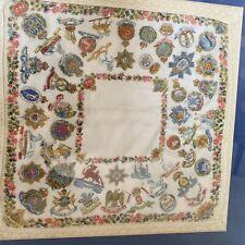 First World War 1 Silk Hankerchief