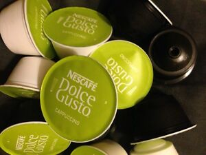 Nescafe Dolce Gusto Pods CAPPUCCINO milk and coffee pods 20,40,60,80,100