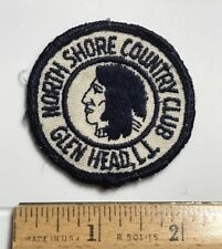 North Shore Country Club Golf Course Logo Glen Head Embroidered Round Patch