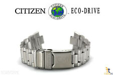 Citizen Conducción Ecológica. AS2020-53E 22mm Ss Correa de Reloj AS2020-53F
