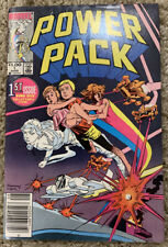 Power Pack #1 Newsstand Rare Double Cover 1st Team Appearance Marvel comics