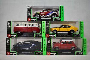 Bburago 1/32 Scale Die-Cast Model Cars