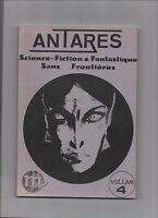 Antarès. Revue Fanzine de science-fiction et fantastique. Volume 4. 1982
