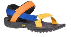 Merrell Kahuna Web Blue Orange Strappy Sandal Men's sizes 7-15 NIB!!