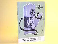 Original(!) Bolex M8 Instruction Manual - in English!