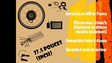 kit de conversion vélo électrique - ebike 1000w 48v - 27.5 pouces - roue arrière