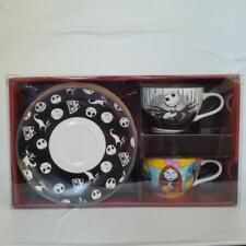 Disney The Nightmare Before Christmas Jack Skellington Sally Tea Cup Saucer Set