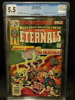 The Eternals #2 CGC 5.5 Marvel 1976 1st Appearance Celestials & Ajak Jack Kirby