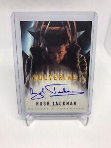2000 Topps Marvel X-MEN The Movie HUGH JACKMAN Wolverine Autograph SSP RARE