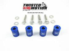 "TWISTED MOTION HOOD SPACERS SR20DET S13 S14 240SX ""BLUE"""