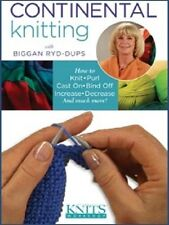 DVD Only! Continental Knitting with Biggan Ryd-Dups