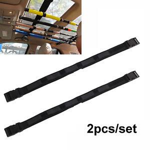 Fishing Rod Saver Vehicle Rod Carrier Band Rod Holder Belt Garage Ceiling Strap