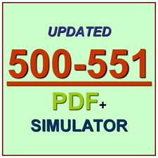 Cisco Networking: On-Premise and Cloud Solutions Exam Test 500-551 Exam QA+SIM
