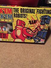 New Rockem Sockem Robots Classic Box Vintage Boxing Toy Game Kids Kid Toy Mattel