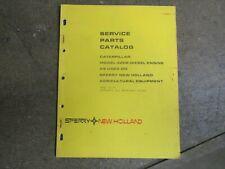 Caterpillar New Holland 3208 Engine Motor Parts Manual