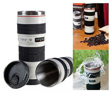 New Camera Lens Mug 1:1 EF 70-200 mm f/2.8L Thermos Coffee  Stainless Mug