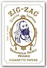 DRUG POSTER Zig Zag Cigarette Papers