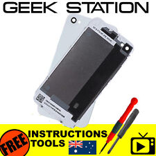 Battery cover for iPhone 4s a1387 back rear glass housing white
