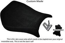 Negro Gamuza Negro Stitch personalizado se adapta a Ducati Monoposto 748 916 996 998 cubierta de asiento