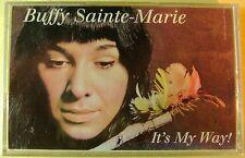 Buffy Sainte-Marie:  It's My Way! (Cassette, 1993, Vanguard) NEW