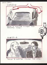 SHE'S OUT OF CONTROL 1989 TONY DANZA ORIGINAL STORYBOARD ART CARL ALDANA SC#88/9