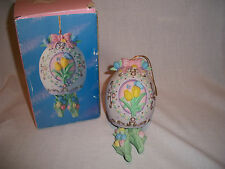 """Easter Wind Chimes - Mint in Box - Approximately 7"""" tall - Ceramic"""
