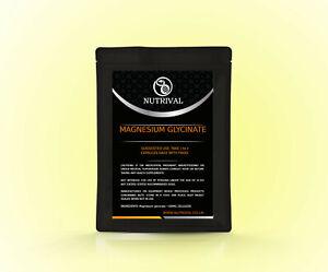 Magnesium Glycinate 500mg capsules, chelated