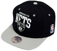 Mitchell & Ness and équipe Arch Brooklyn Nets NBA Black Snapback Casquette na80z