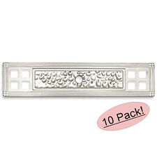 *25 Pack* Cosmas Cabinet Hardware Satin Nickel Pull Backplates #B-112-96SN