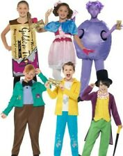 Charlie Chocolate Factory Roald Dahl Costume Fancy Dress Book Day Boy Girl New