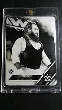 2016 Topps WWE Braun Strowman Rookie Printing Plate 1/1