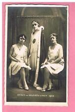 CPA  - BOURBON - LANCY - 71 - REINES DE BOURBON - LANCY 1928