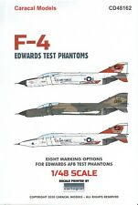 "NEW 1:48 Caracal Models Decals 48162 McDonnell F-4 Phantom II ""Edwards Test"""