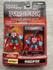 "Hasbro Transformers Heroes of Cybertron G1 Perceptor 3"" Action Figure"