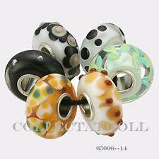 Authentic Trollbeads Silver Universal  Kit - 6 Beads Trollbead  65006 *14*