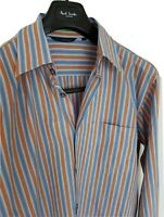 """Mens chic PAUL SMITH long sleeve collar size 16"""" /large. Immaculate RRP £175."""