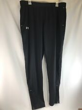 Under Armour Mens Warm Up Pants Sweatpants Black Mens XL
