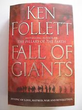 Ken Follett FALL OF GIANTS PB2010 **GC**
