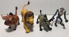 Disney Lion King Battle Fighting Action Banzai Hyena Mufasa Rafiki Pumbaa Lot