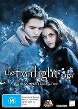 The Twilight Saga Complete Collection R4 DVD Genuine