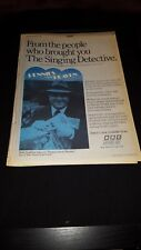 The Singing Detective Rare 1988 BBC Promo Poster Ad Framed! #2