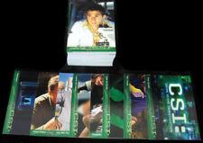 2003 Strictly Ink CSI: Crime Scene Investigation Season 1 Trading Card Set