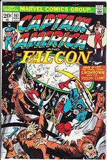 Captain America #167 Fn Falcon 1973 Buscema Yellow Claw Giacoia 20-c Bronze Age