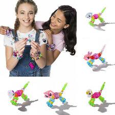 Kids Beaded Jewelry Twisted Cartoon Animal DIY Wristband Bracelet Toy Boys Girls