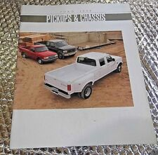 Factory Dealership Brochure Sales 1994 Ford Pickups & Chassis