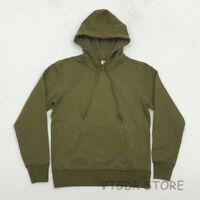BOB DONG Winter Heavy Plain Hoodie Vintage Mens Fleece Sweatshirt Retro Pullover
